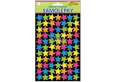 Room Decor Neon Stars Sticker 25 x 14 cm 154 pieces