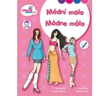 Ditipo Creative coloring books Fashion pier 27 x 21 cm