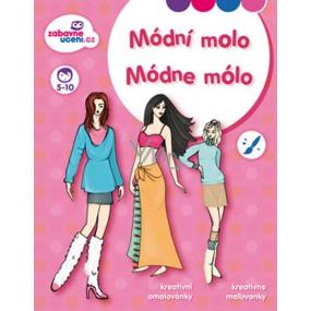 Ditipo Creative coloring books Fashion pier 27 x 21 cm