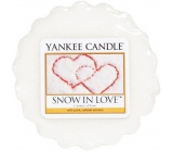 Yankee Candle Snow in Love - Love snow scented wax aroma lamp 22 g