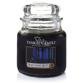 Yankee Candle Dreamy Summer Nights - Zasněné letní noci vonná svíčka Classic střední sklo 411 g