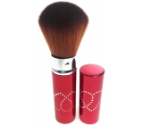 Cosmetic powder brush with cap 11 cm 30450-06