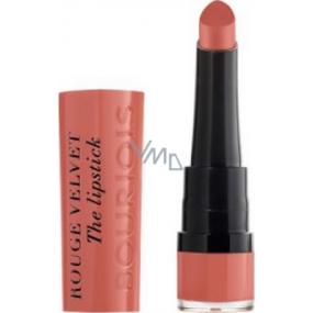Bourjois Rouge Velvet The Lipstick Lipstick 15 Peach Tatin 2.4 g