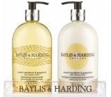 Baylis & Harding Mandarin and Grapefruit liquid soap 500 ml + hand lotion 500 ml, cosmetic set