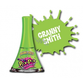 Bo-Po Nail polish peeling green with the scent of Granny Smith for children 5.5 ml