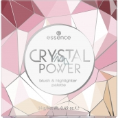 Essence Crystal Power Blush & Highlighter Palette
