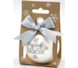 Nekupto Christmas balls Wonderful grandfather 11 x 6 cm