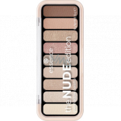 Essence The Nude Edition Eyeshadow Palette 10 Pretty In Nude 10 g