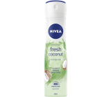 Nivea Fresh Coconut antiperspirant deodorant spray for women 150 ml