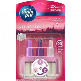 Ambi Pur 3 Volution Thai Escape 2x Effect electric air freshener 3 x 20 ml
