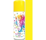 Angel washable colored yellow hair spray 125 ml