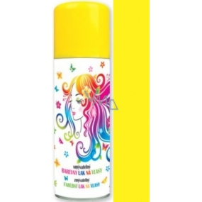 Angel Washable Color Hair Spray Yellow 125 ml