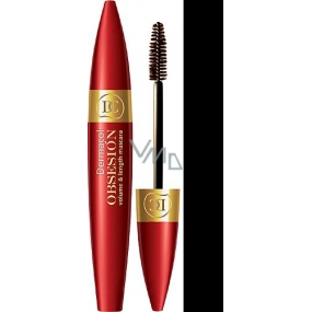 Dermacol Obsesión Volume & Length Mascara Shade Black 9 ml