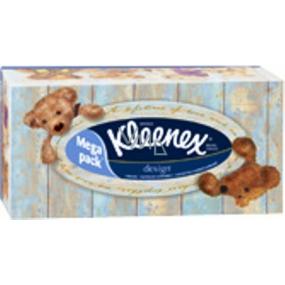 Kleenex Design Box paper handkerchiefs 2 ply in a box of 130 pieces