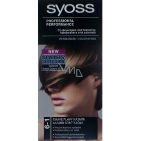 Syoss Professional Hair Color 6 - 1 Dark Fawn Cashmere