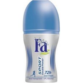 Fa Sport Double Power Cool Fresh 50 ml deodorant roll-on for women