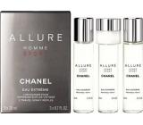 Chanel Allure Homme Sport Eau Extreme Eau de Parfum Refill for Men 3 x 20 ml