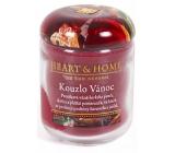 Heart & Home Kouzlo Vánoc Sojová vonná svíčka střední hoří až 30 hodin 110 g