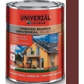Colorlak Universal SU2013 Synthetic Gloss Finish Brown Chocolate 0.6 l