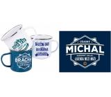 Albi Tin mug named Michal 250 ml