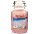 YANKEE CANDLE CANDLE GLASS GRAND Pink Sands 3741