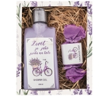 Bohemia Gifts & Cosmetics Cycling shower gel 200 ml + soap 30 g, cosmetic set