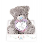 Me to You Teddy bear heart 17 cm