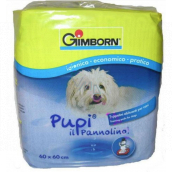Gimborn Diapers, educational pads for puppies highly absorbent pads, can be used in dog toilets 60 x 60 cm 10 pieces