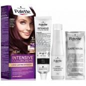 Schwarzkopf Palette Intensive Color Creme hair color shade RFE3 4-89 Intense dark purple