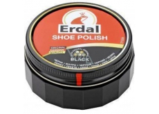 Erdal Shoe Cream Black in a 55 ml jar
