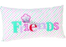 Me to You Pillow Friends white 32 x 17.5 x 6.5 cm