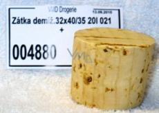 Cork stopper 32 x 40 x 35, 20 l