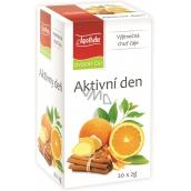 Apotheke Aktivní den ovocný čaj 20 x 2 g