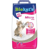 Biokats Micro Fresh Cat litter 100% fine natural clay 7 l