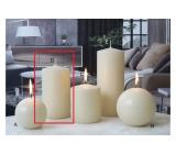 Lima Ice pastel candle creme cylinder 80 x 150 mm