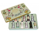Panier des Sens Extra Nourishing Hand Cream containing essential oils in a tin box 12 x 30 ml, cosmetic set
