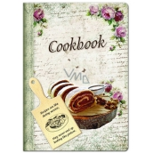 Ditipo Recipe book with cutting board, roll 17 x 24 cm