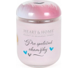 Heart & Home For common moments Soy scented candle medium burns up to 30 hours 110 g