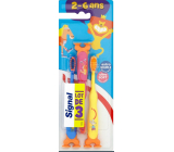 Signal Kids soft toothbrush for children 3 pieces