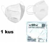Woow Respirator oral protective 5-layer FFP2 face mask 1 piece