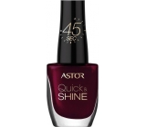 Astor Quick & Shine Nail Polish lak na nehty 302 Glass Of Wine 8 ml