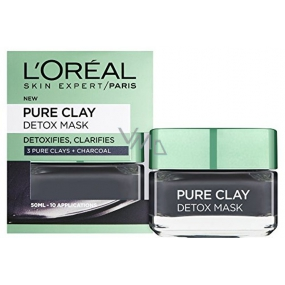 Loreal Paris Pure Clay Detox Mask Intensive cleansing face mask 50 ml