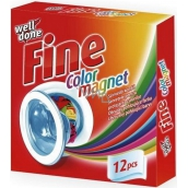Well Done Fine Color Magnet wipes for absorbing color absorbing 12 pieces