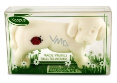 Kappus Dog toilet soap in an attractive, transparent box 50 g