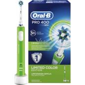 Oral-B Pro 400 CrossAction Green elektrický zubní kartáček 1 kus