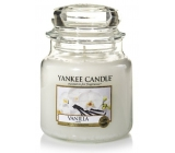 Yankee Candle Vanilla - Vanilla Scented Candle Classic Medium Glass 411 g