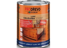 Colorlak Celolesk C1037 nitrocellulose glossy varnish for wooden furniture 0,35 l