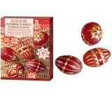 Sada k dekorování vajíček Zdobení slámou