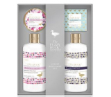 Baylis & Harding Forest Bell and Flower Meadow cleansing gel 300 ml + shower cream 300 ml + toilet soap 150 g + body butter 100 ml, cosmetic set