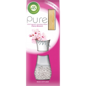 Air Wick Reed Diffuser Pure Cherry Blossom - Cherry Blossom Incense Sticks Air Freshener 25 ml